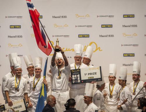 Norge tok gull i europamesterskapet i kokkekunst