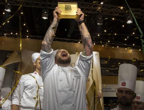 Vinneren av Årets kokk 2019 er Christian André Pettersen