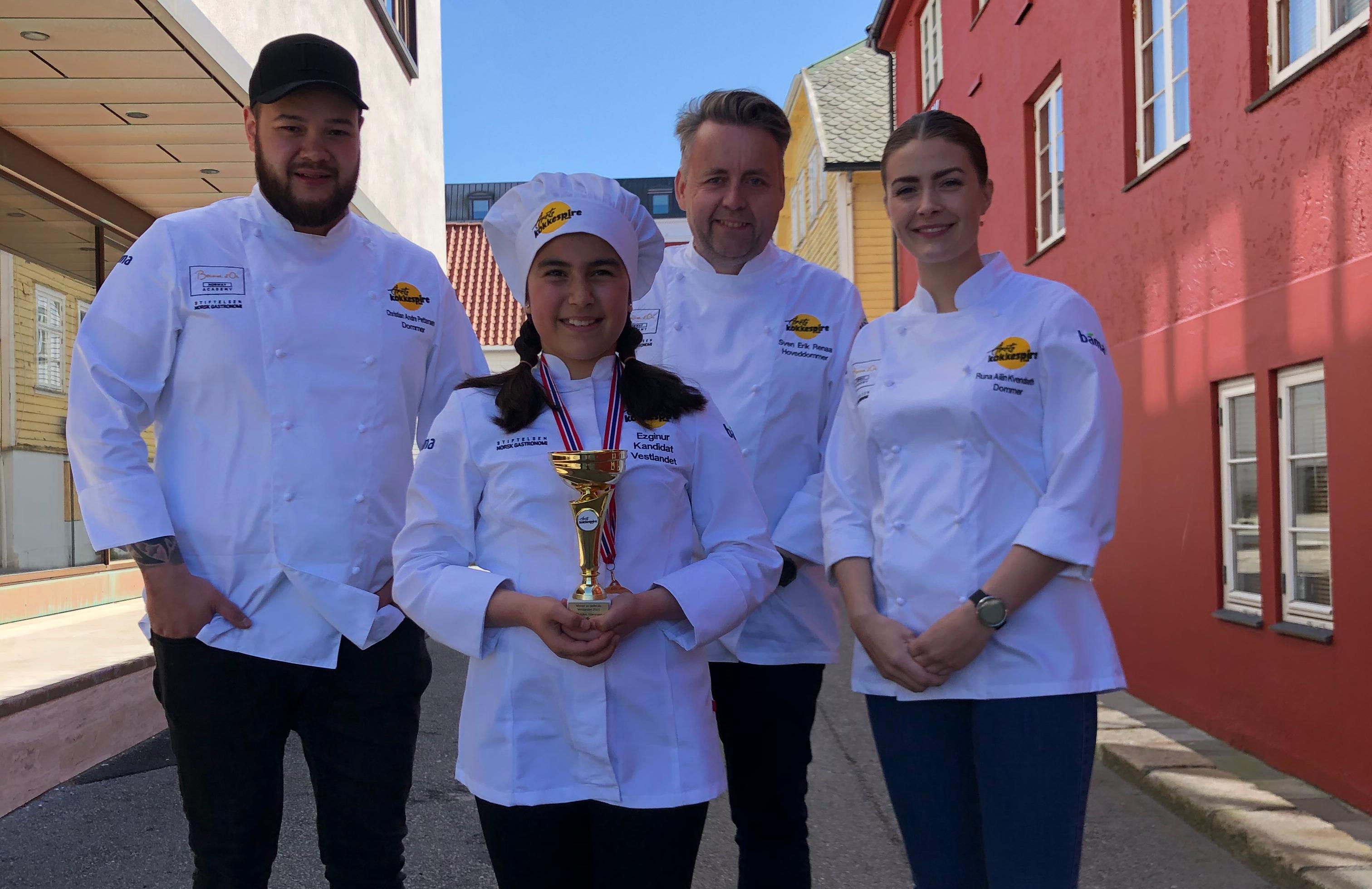 Ezginur ble første delfinalevinner i Årets Kokkespire!