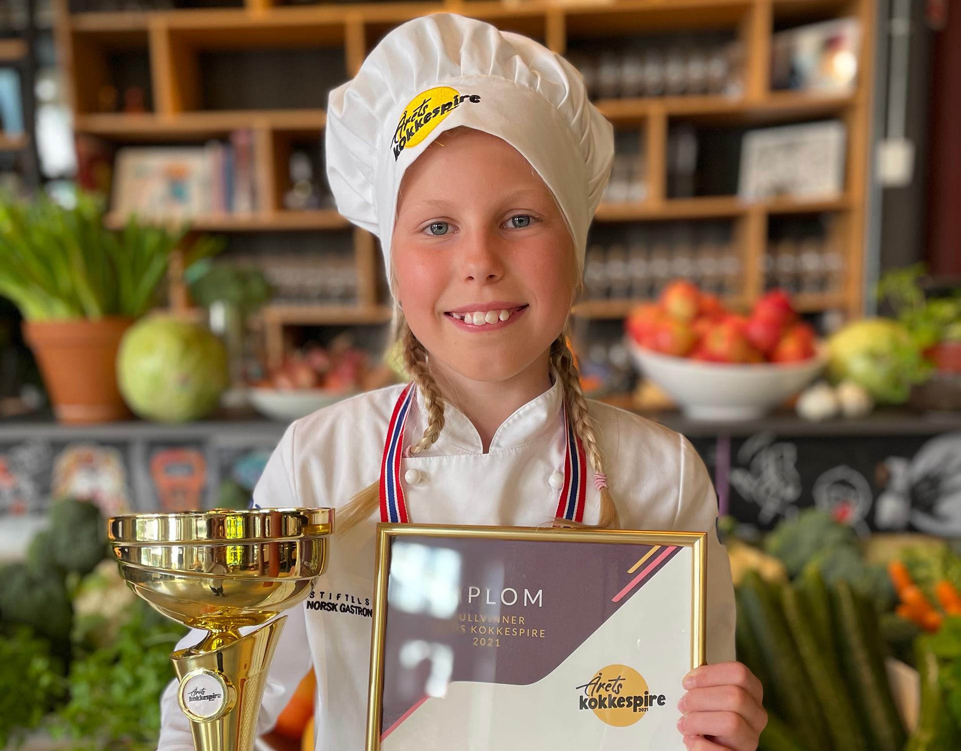 Norges aller første Kokkespire